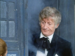 Jon Pertwee as the Doctor (Spearhead from Space)