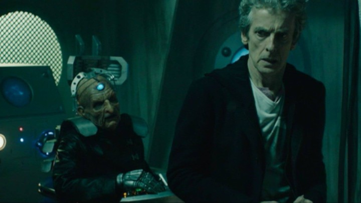 Doctor Who: the Doctor and Davros